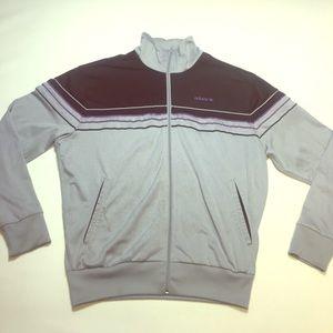 Vintage Multicolored Adidas Full Zip Trackjacket